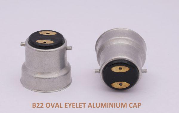 B22 Oval EYELET Cap